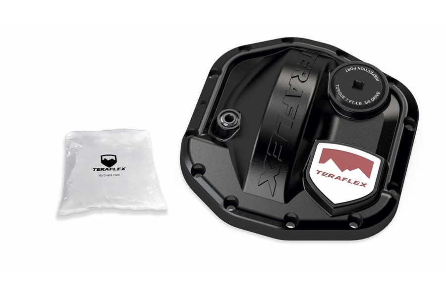 Teraflex D30 AdvanTEK Front HD Differential Cover Kit - JT/JL