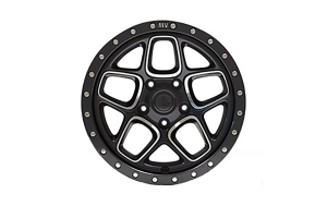 AEV Mesa Wheel Onyx Black w/ Machined Spoke 18x8.5 5x5.5 (Part Number: )