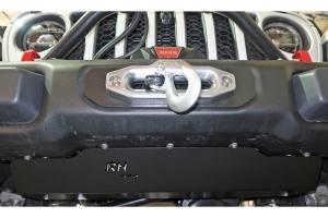 Rock Hard 4x4 Front Bumper Skid Plate for Steel Bumpers - JT/JL