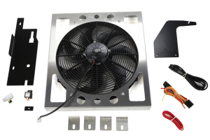Derale Direct Mount Electric Fan Kit (Part Number: )