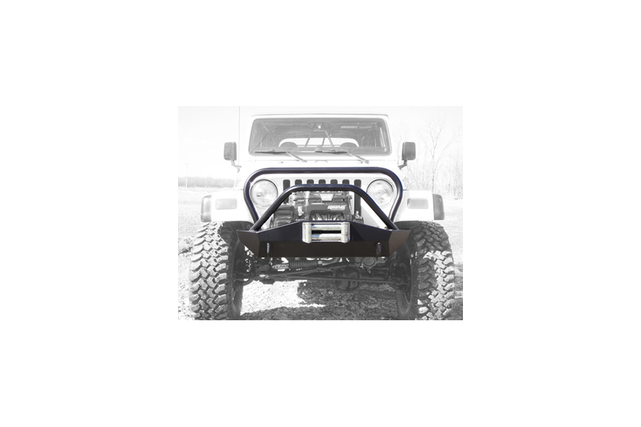 LOD Signature Series Shorty Front Bumper w/Full Guard Bare Steel (Part Number:JFB9604)
