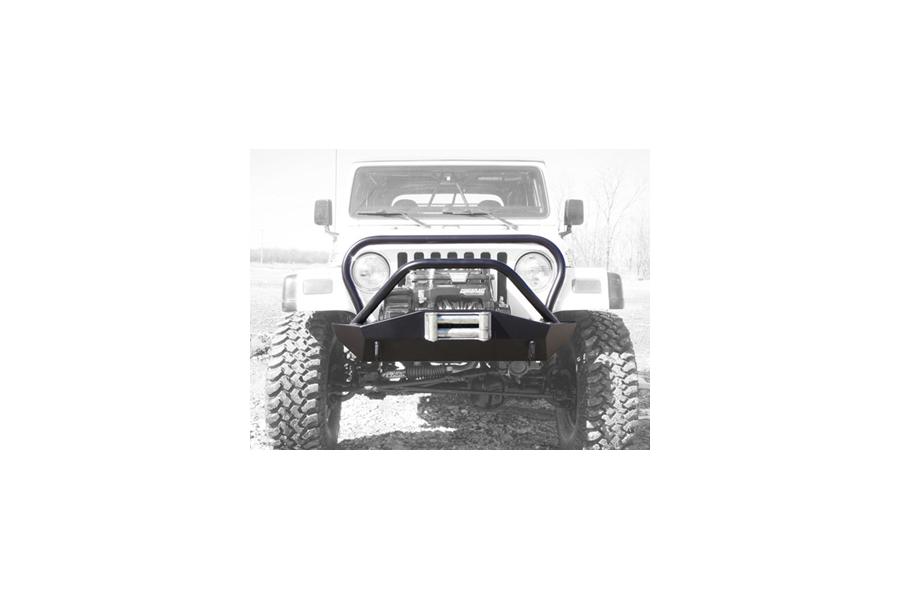 LOD Signature Series Shorty Front Bumper w/Full Guard Black Powder Coated - TJ/LJ