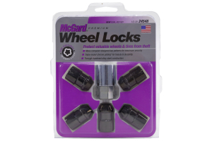 McGard 5-Lock Wheel Lug Nut Set 1/2-20 Black (Part Number: )