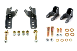 Synergy Manufacturing Front & Rear Lower Shock Relocation Kit ( Part Number: 8019)