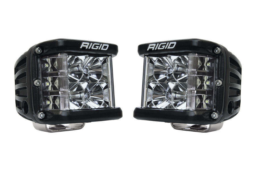 Rigid Industries D-SS PRO Side Shooter LED Cube, Flood Pair (Part Number:262113)