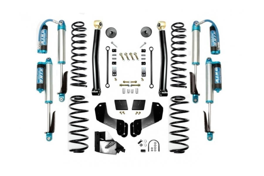 EVO Manufacturing 3.5in Enforcer Overland Lift Kit w/King Shocks Stage 2 (Part Number:3014S2K)