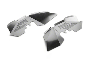 DV8 Offroad Aluminum Front Inner Fenders Raw (Part Number: )