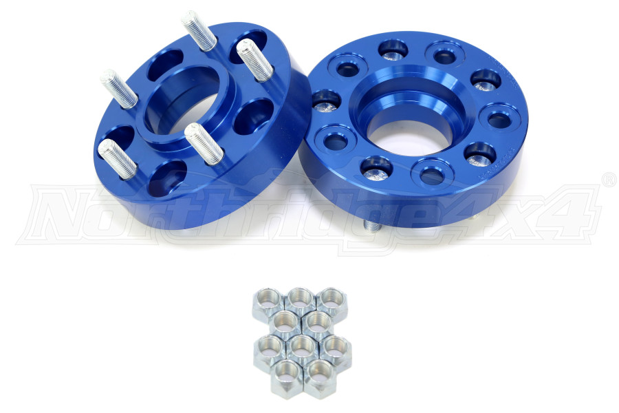 Jeep Wheel Spacers Or Extenders : Spidertrax wheel spacer kit in jeep rubicon
