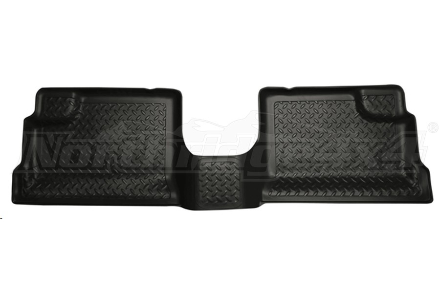 Husky Liners Floor Liner Second Row Black (Part Number:60551)