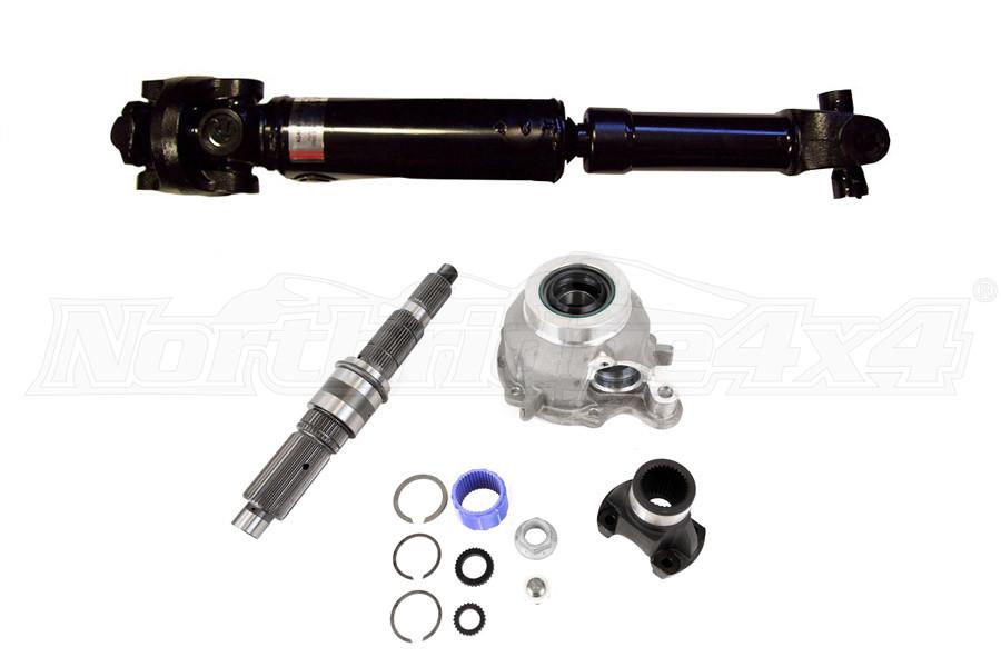 Advance Adapters Slip Yoke Eliminator and Adams Rear Driveshaft Package