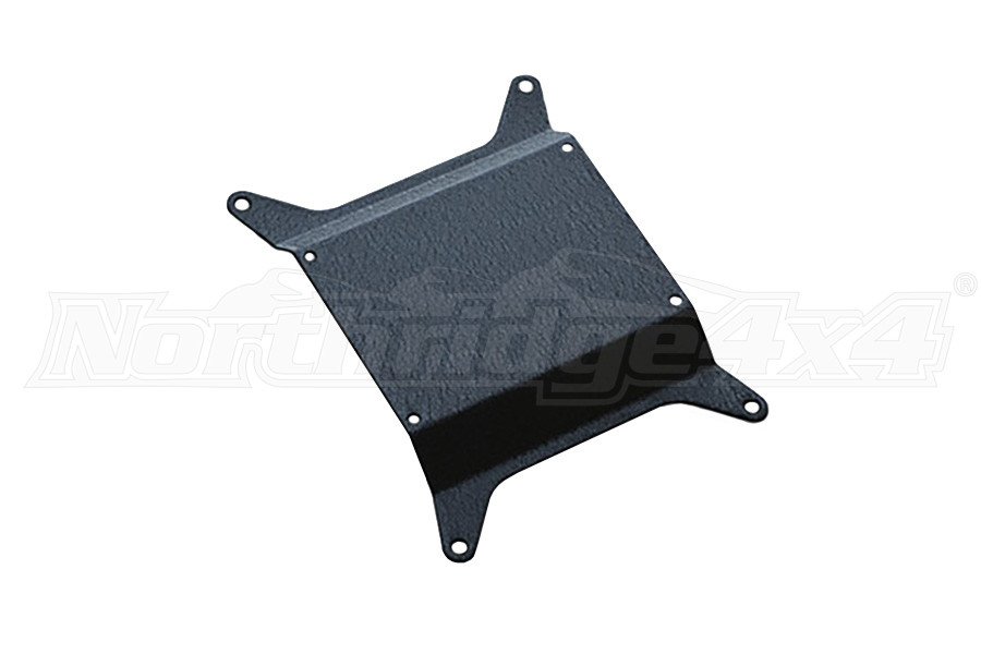 Poison Spyder License Plate Mount - Tall Vent (Part Number:18-04-013-03)