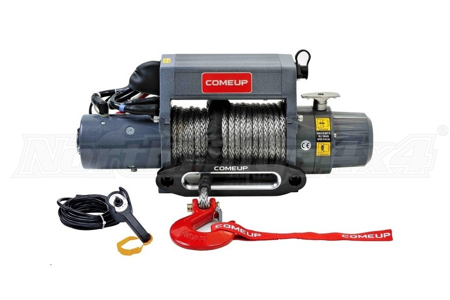 Comeup DV Premium Series 9si Recovery Winch w/ Synthetic Rope  (Part Number:859012)