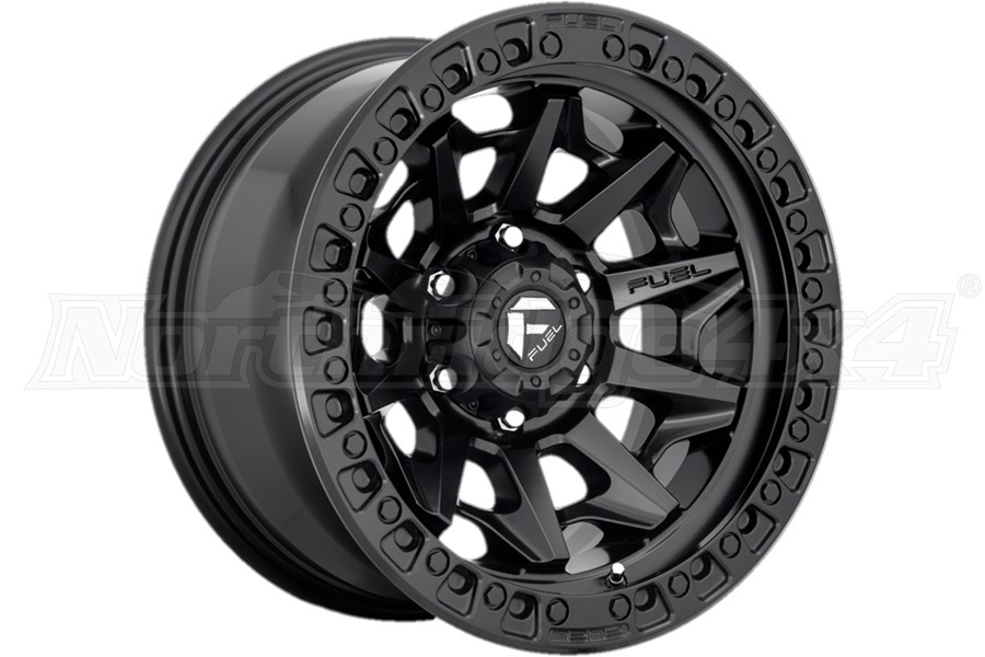 MHT Fuel D694 Covert Series Wheel, 17x9 5x5 - Black - JT/JL/JK