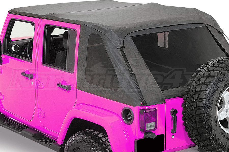 Rampage Complete Trail Top Frameless Soft Top Kit  (Part Number:106035)