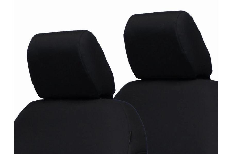 Bartact Front Headrest Covers - Black  - JT