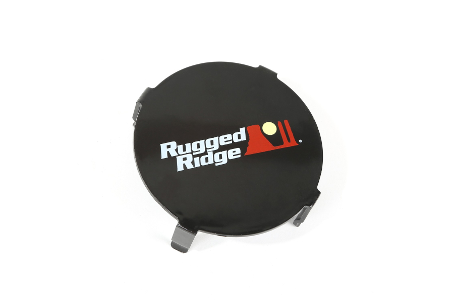 Rugged Ridge 3.5-Inch LED Light Cover, Black (Part Number:15210.64)