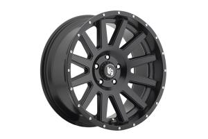 Pro Comp LRG107 Satin Black 20x9 5x5 - JK/JL