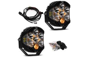 Baja Designs LP6 Series LED Light Kit  - JT/JL Rubicon w/ Steel Bumper