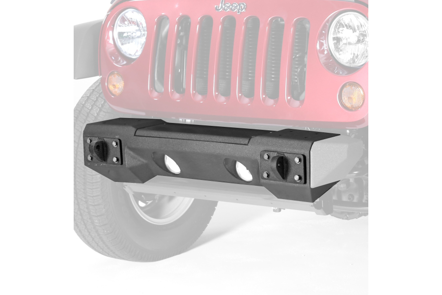 Rugged Ridge Steel Front Winch Bumper w/Winch Plate (Part Number:11542.01)