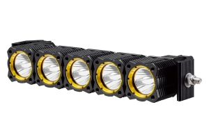 KC HiLiTES 10in FLEX LED Light Bar Front Bumper Kit - JL/JT