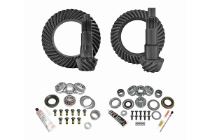 Yukon Complete D35 Rear / D30 Front Ring and Pinion Kit - 4.56  - JL Non-Rubicon