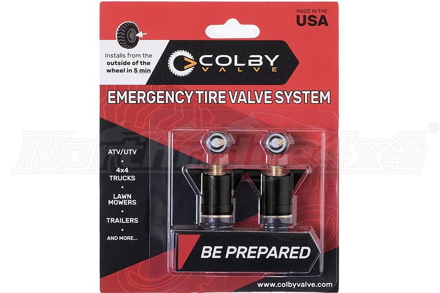 Colby Valve Emergency Valves Black 2-Pack (Part Number:CV-EV1)