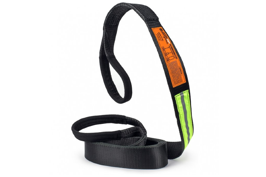 Bubba Rope 20FT x 3IN Black Op Tow Strap - 47,000lb Max Capacity