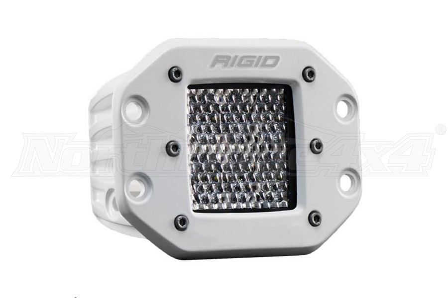 Rigid Industries D-Series Pro Specter Diffused Flush Mount Single (Part Number:711513)