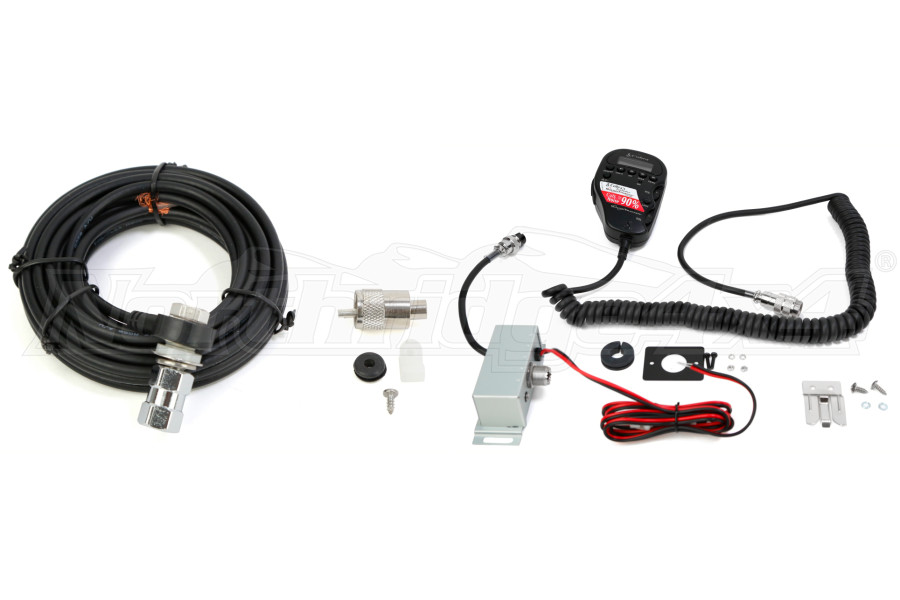 jeep jk cb distrbuting cobra 75wxst cb w18 coax cable firestik cb distrbuting cobra 75wxst cb w 18 coax cable firestik package part