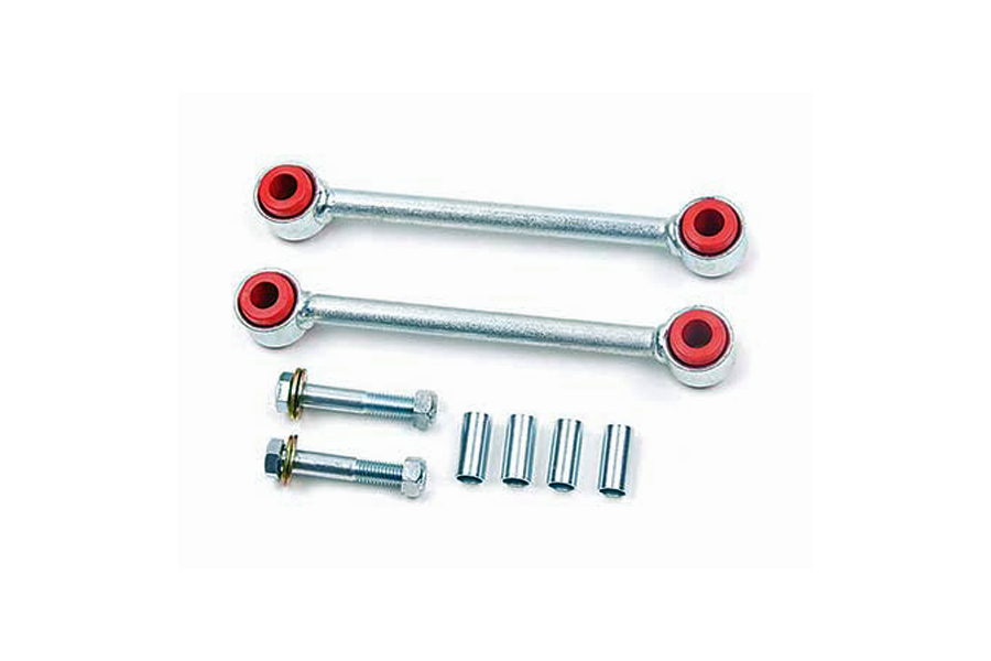 Zone Offroad Front Sway Bar Links 3-4.5in Lift (Part Number:J5301)