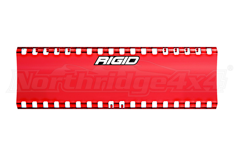 Rigid Industries SR-Series 6in Cover, Red (Part Number:105903)