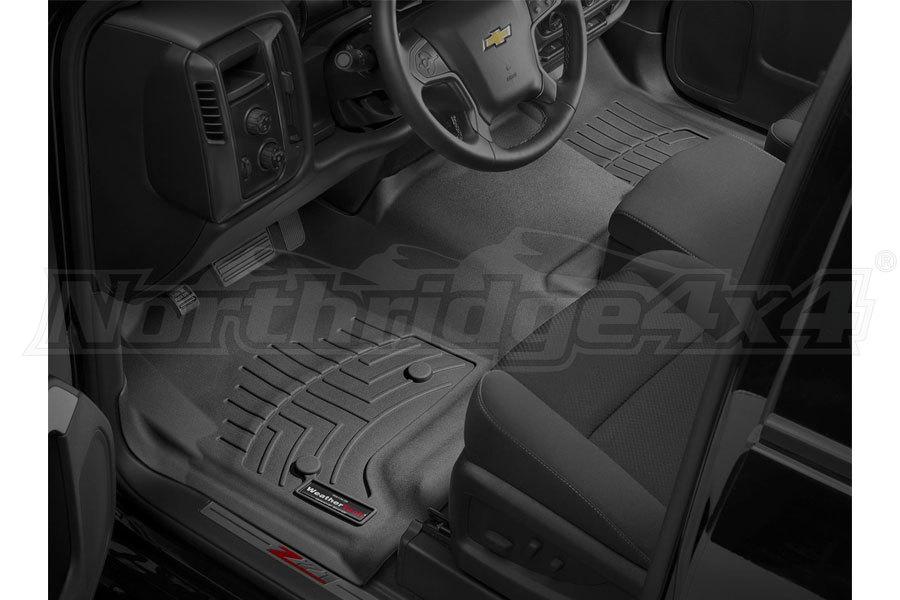 WeatherTech Front Floorliner Black (Part Number:4410121)