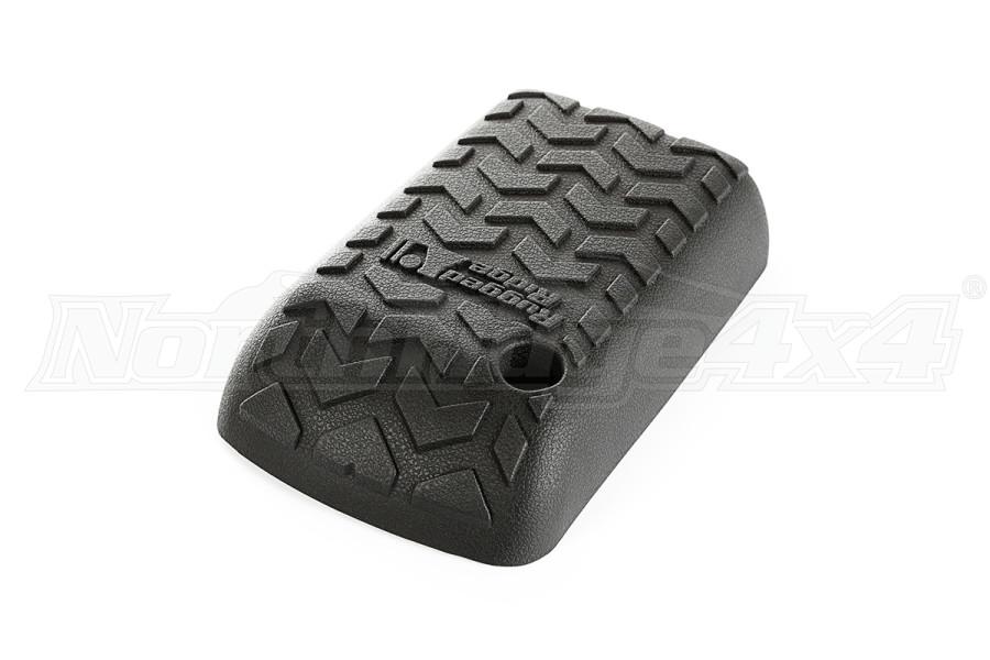 Rugged Ridge Armrest Cover, Black - TJ