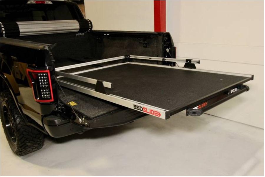 BedSlide 2000 Heavy Duty Cargo Slide System, Silver - 75in x 48in  - Toyota Tundra 2007+ / Ram 1981-01 1500/2500/3500  w/ 6.5ft Bed