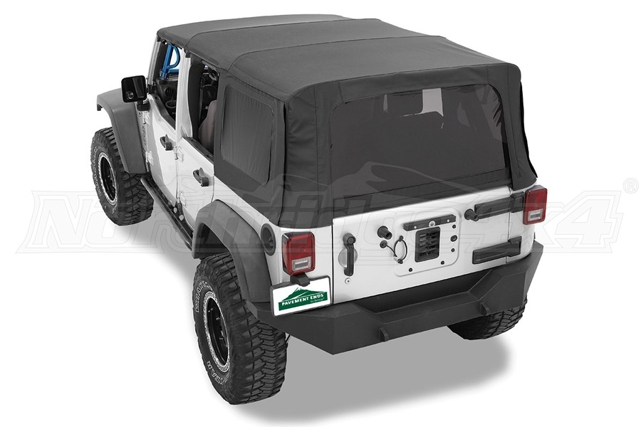 Bestop Replay Top Replacement Soft Top, Black Diamond - JK 4Dr 2010+