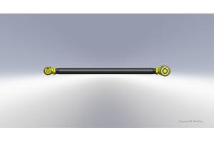 Clayton Custom Front Adjustable Track Bar w/Forged JJ 1.6 Width Lower - TJ/LJ/XJ/ZJ