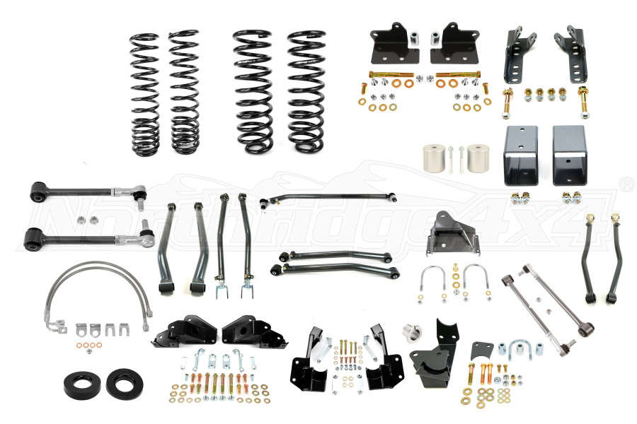 Synergy Manufacturing 3in Suspension System Lift Kit, Stage 4 - JK 2DR