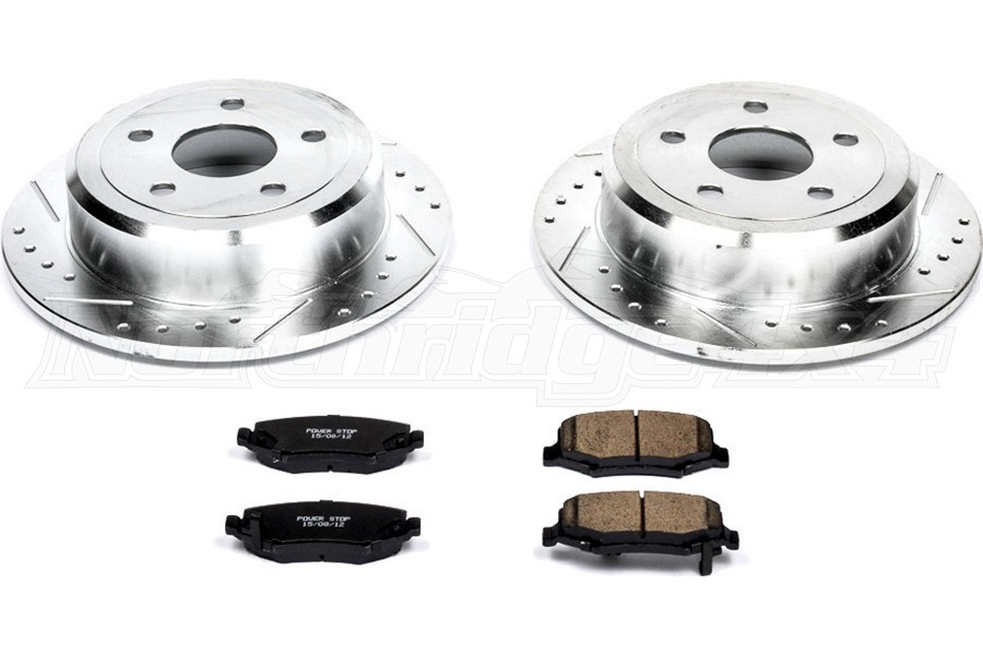 Power Stop Z23 Evolution Sport Performance Rear Brake Kit  - JK
