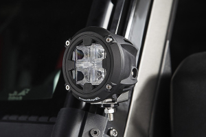 Rugged Ridge Round LED Light 3.5 inches, Combo High/Low Beam (Part Number: )