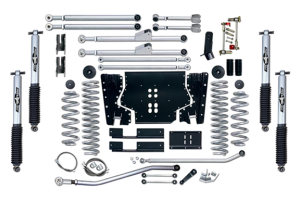 Rubicon Express 4.5in Extreme Duty Long Arm Lift Kit w/Mono Tube Shocks - TJ 2003-06