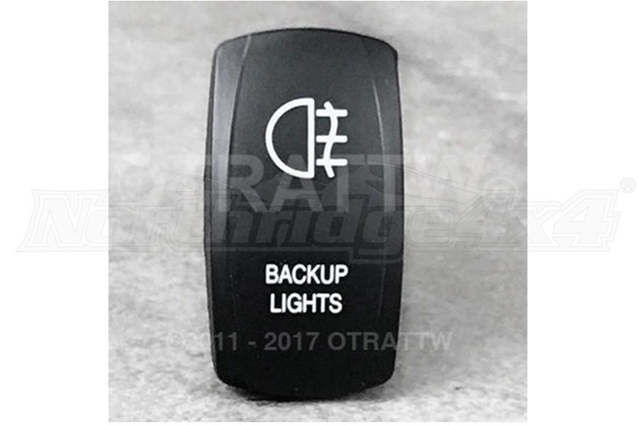 sPOD Backup Lights Rocker Switch Cover