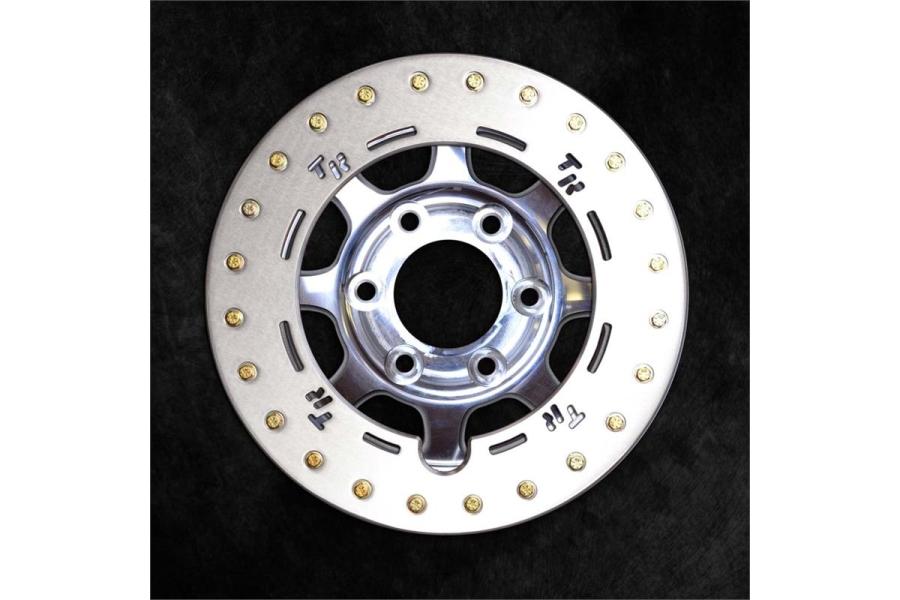 Trail Ready Rock Ring Polished Wheel, 17x8.5 8x6.5  (Part Number:HD17-80-35-R-PL-PL-Z)