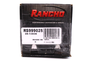 Rancho Performance RS9000XL Series Universal Shock (Part Number: )
