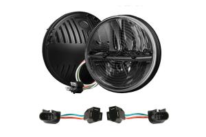 Rigid Industries Truck-Lite 7in Round Heated Headlights Pair (Part Number: )