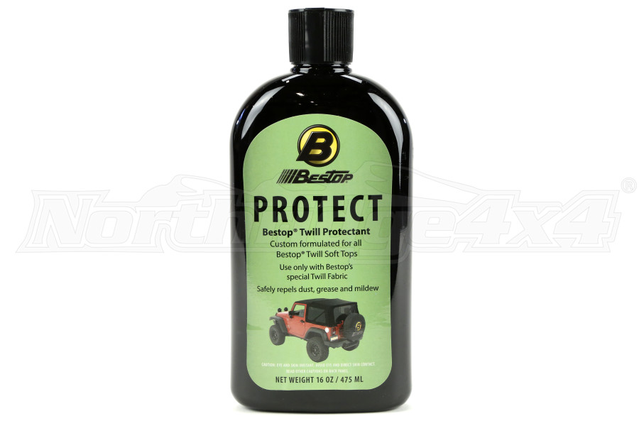 Bestop Fabric Protectant for Black Twill Soft Tops (Part Number:11207-00)