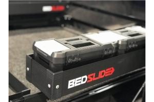 BedSlide BedBin Side Kix, Black - 7in x 44in