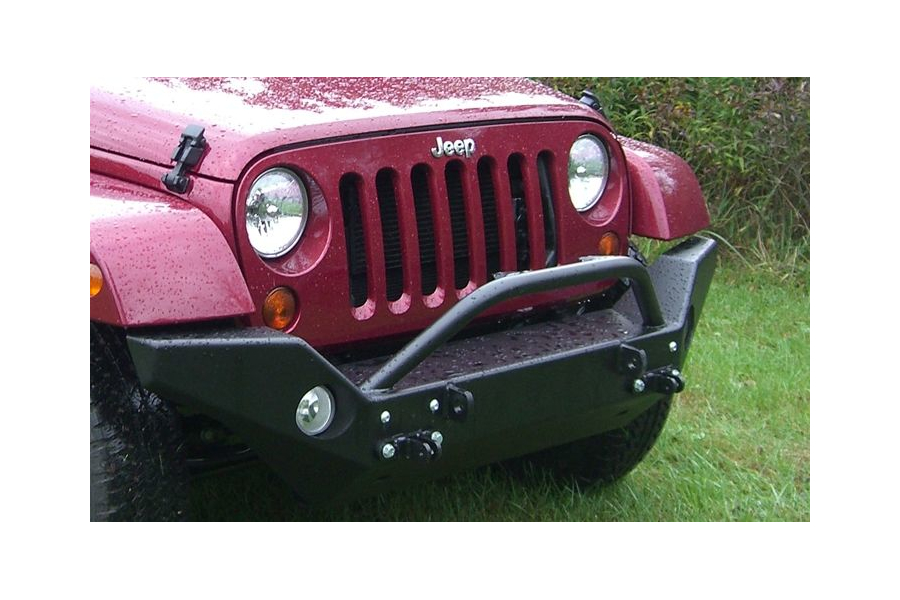 Rock Hard 4x4 Patriot Series Aluminum Full Width Front Bumper (Part Number:RH-5046)