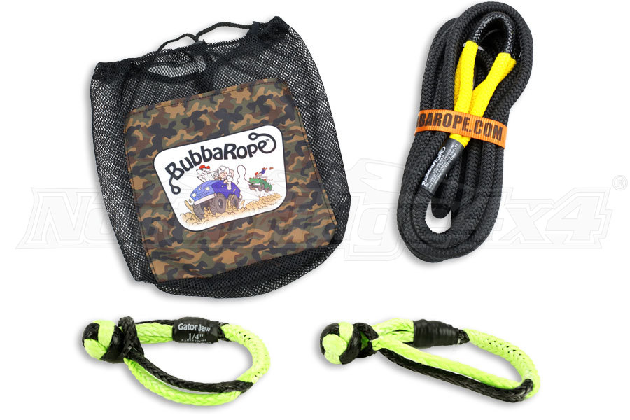 Bubba Rope And Soft Shackle Package