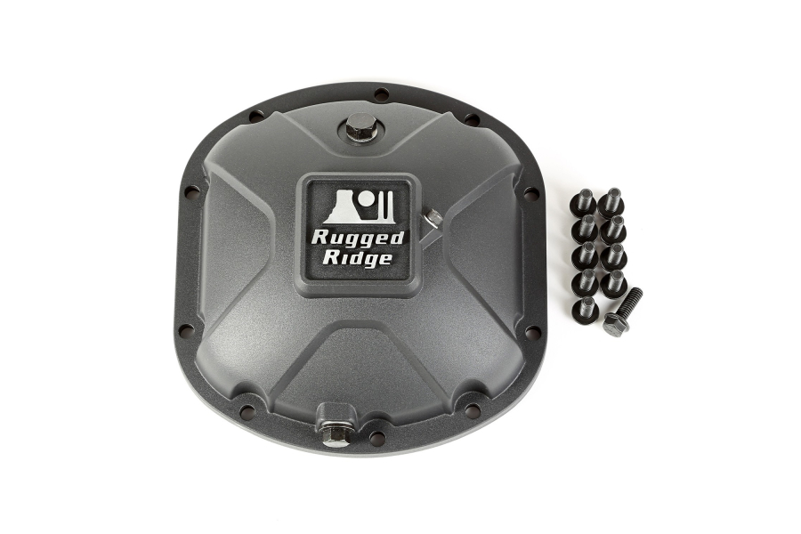 Rugged Ridge Dana 30 Differential Cover (Part Number:16595.13)
