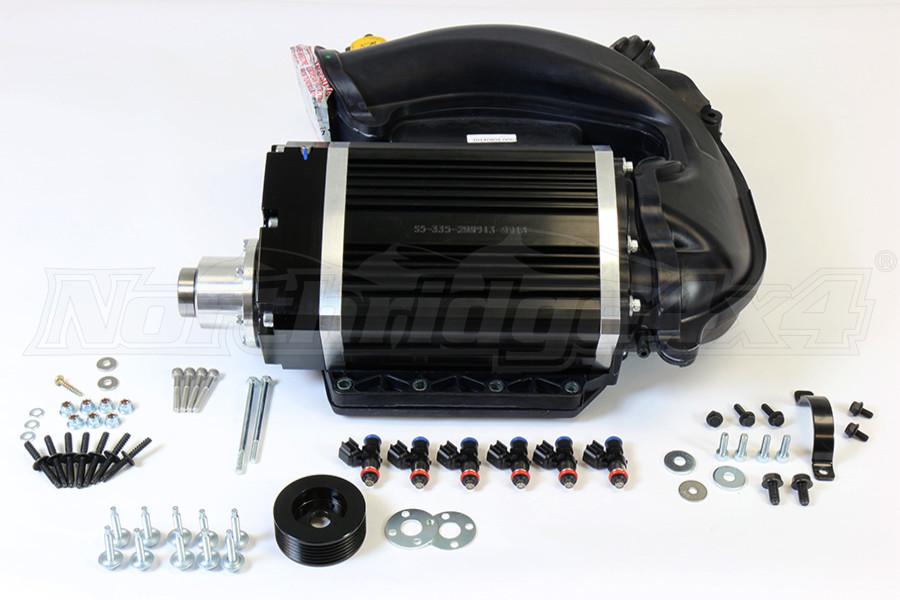 Sprintex Jeep Intercooled Supercharger System w Tuner (Part Number:263A1001)